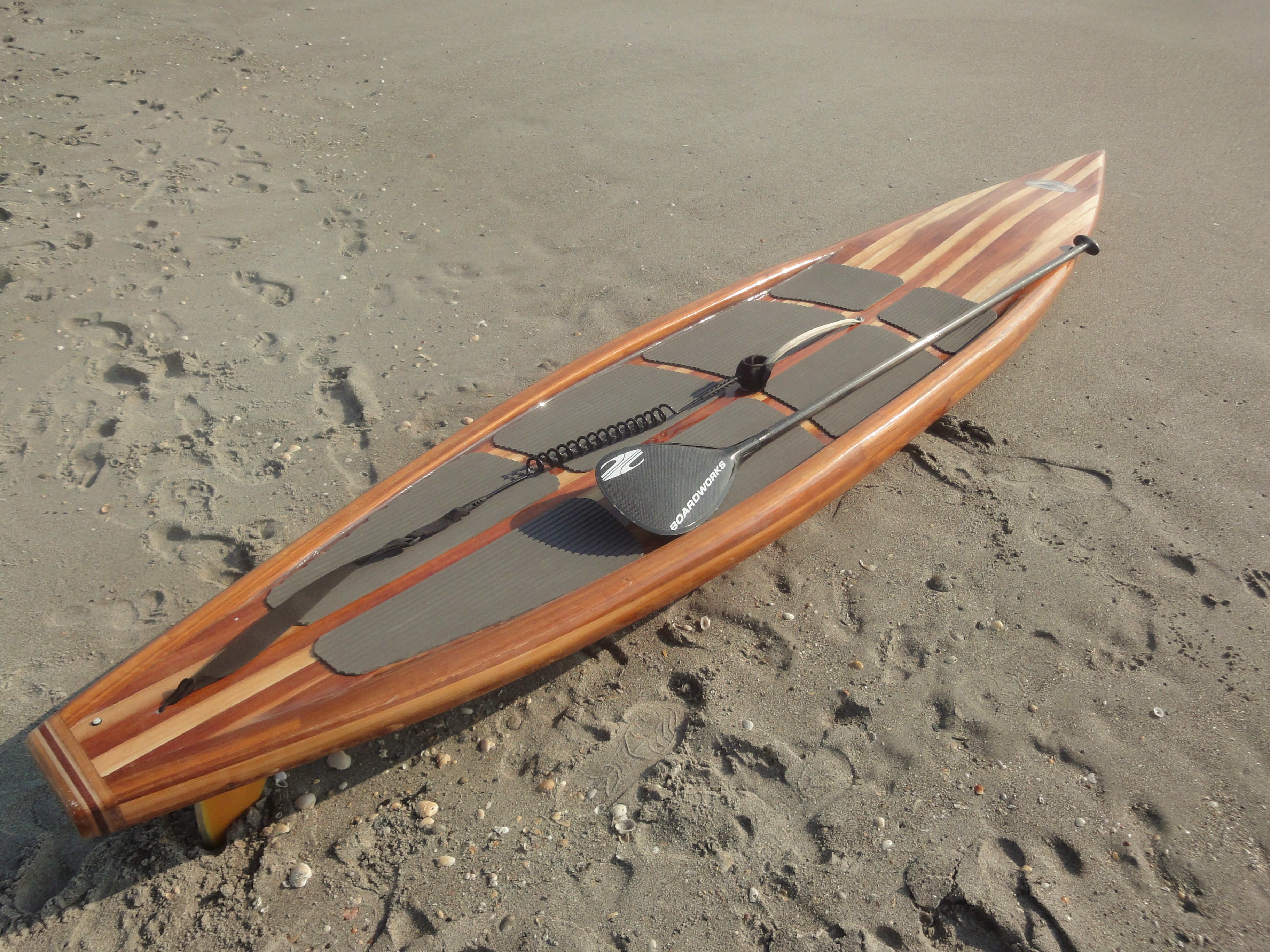 Wood Sup Paddleboard ~ Make homemade lathe stand diy wooden up paddle