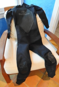 wetsuit - before